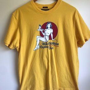 Abercrombie & Fitch oyster club t shirt XXL